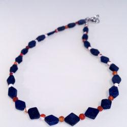Lapiz-Lazuli und Achat